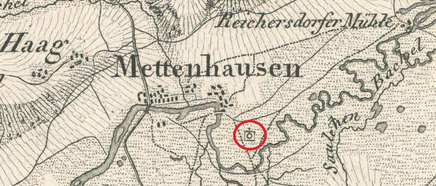 Landkarte ca. 1860